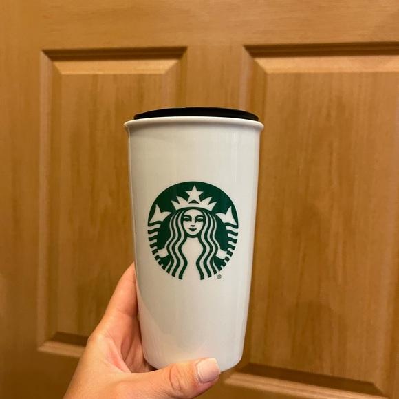 Ceramic Starbucks cup